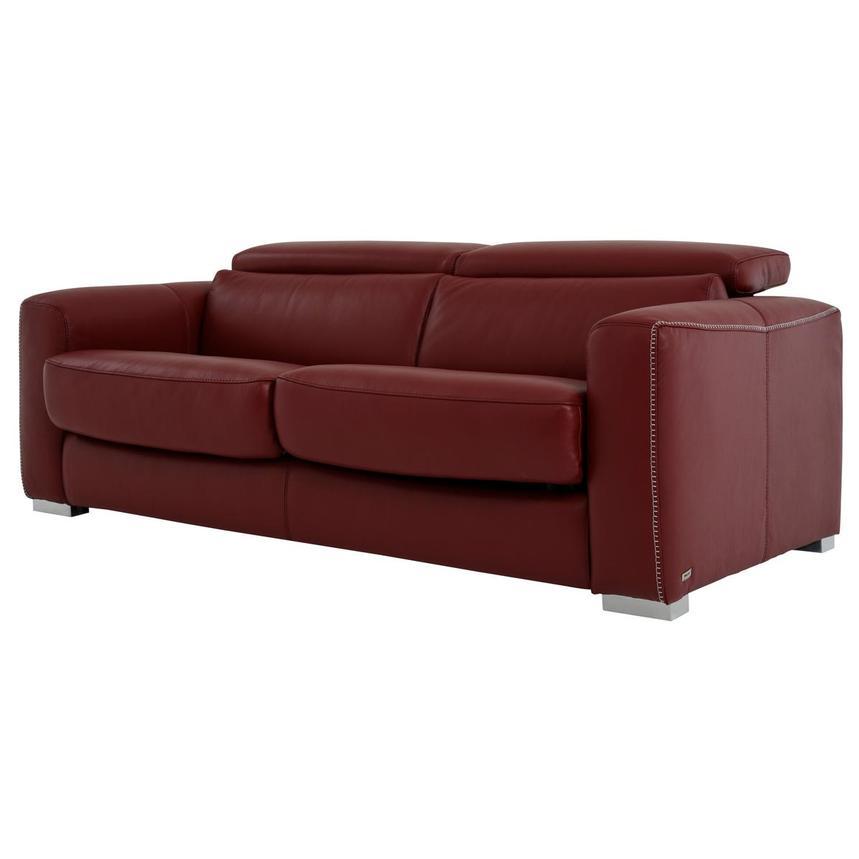 Phenomenal Bay Harbor Red Leather Sleeper Ncnpc Chair Design For Home Ncnpcorg