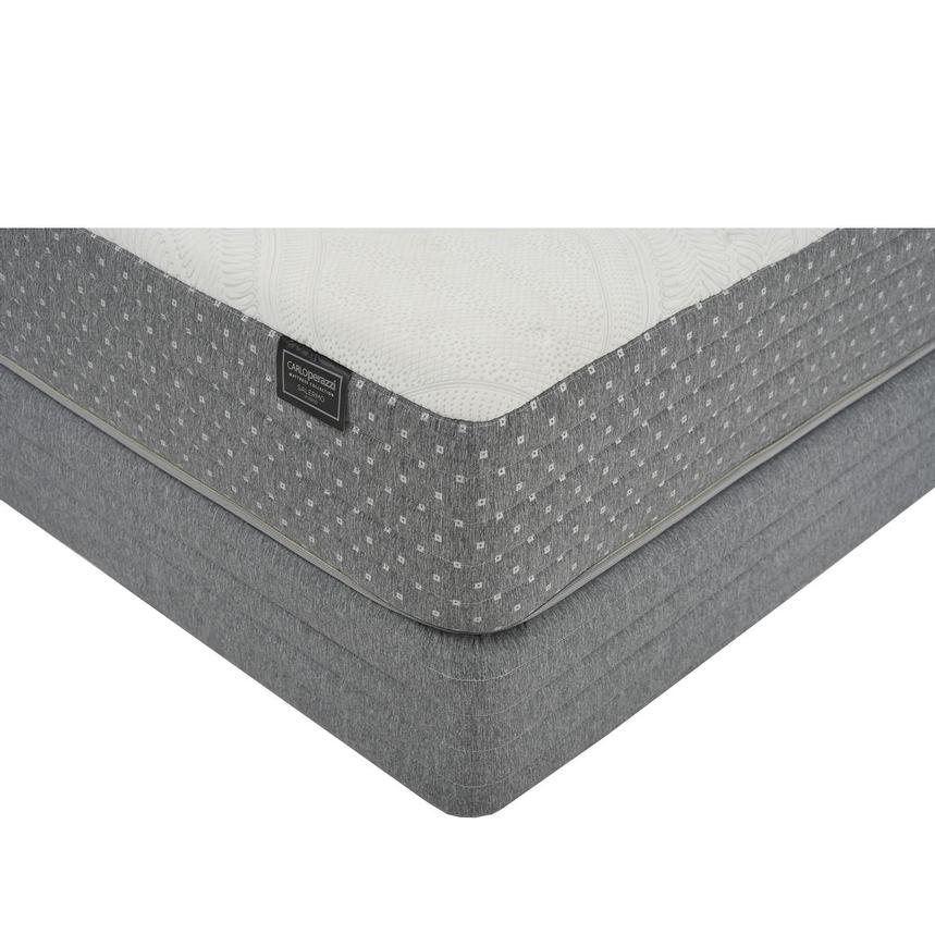 Salermo HB Queen Mattress w/Regular Foundation by Carlo Perazzi  main image, 1 of 4 images.