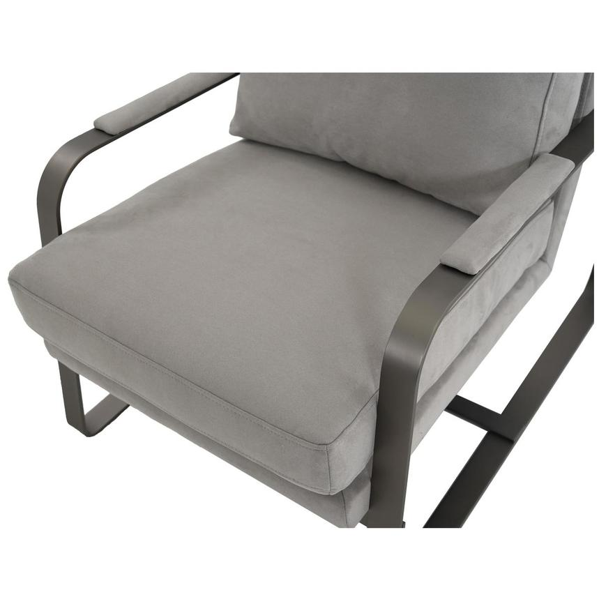 Isa Light Gray Accent Chair  alternate image, 6 of 6 images.