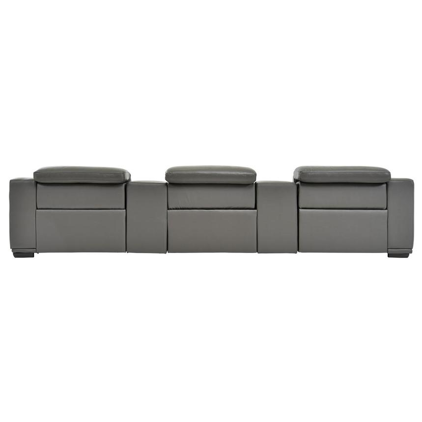 Davis 2.0 Dark Gray Home Theater Leather Seating  alternate image, 5 of 8 images.