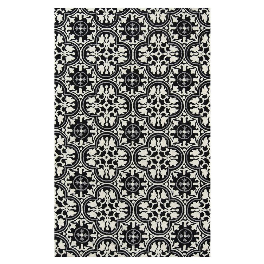 Botanical 5' x 8' Indoor/Outdoor Area Rug  main image, 1 of 3 images.