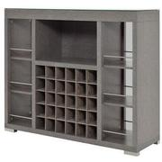 Freeport Gray Bar Cabinet  alternate image, 2 of 8 images.