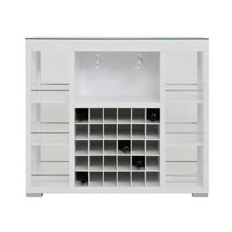 Freeport White Bar Cabinet