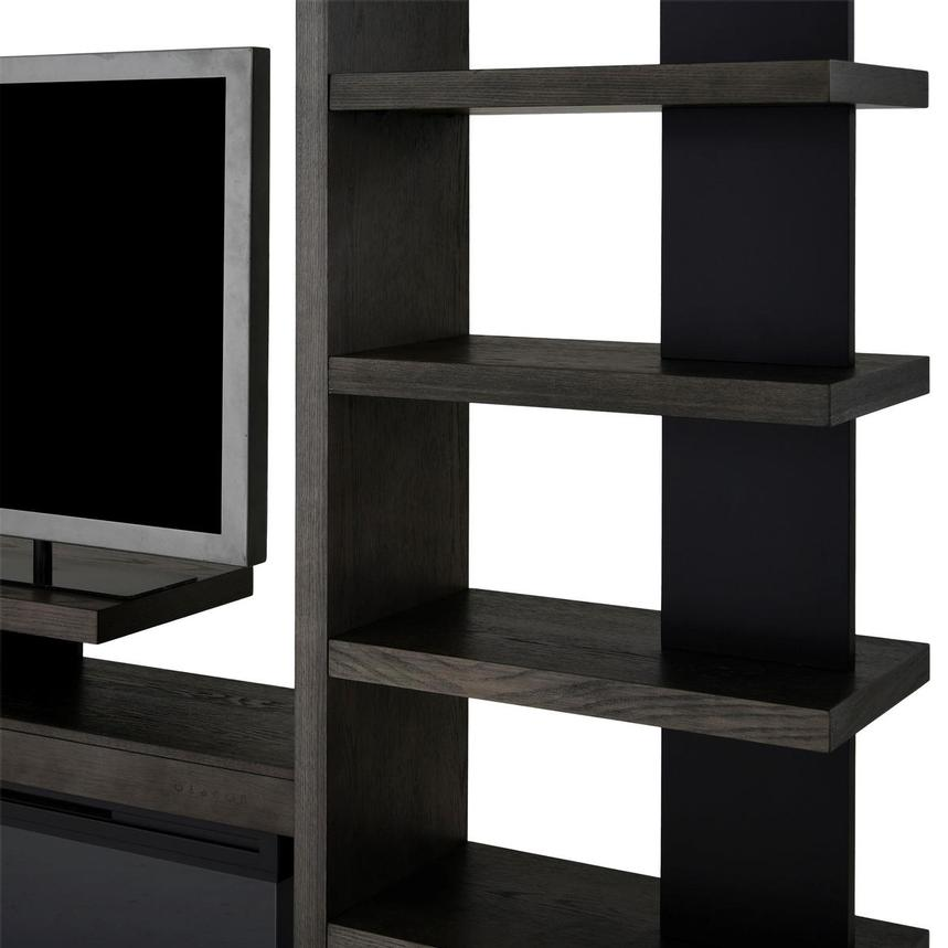 Brielle Wall Unit w/Bookcases  alternate image, 4 of 9 images.
