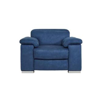Karly Blue Power Recliner