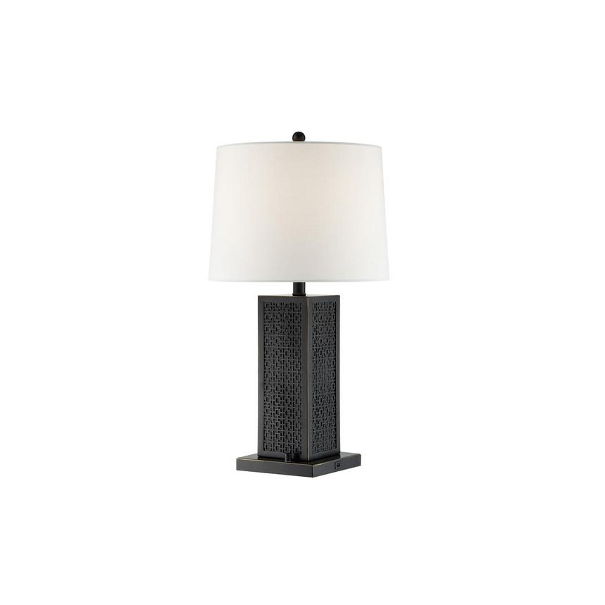 Otis Table Lamp w/Bluetooth Speaker  main image, 1 of 3 images.
