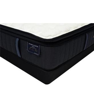 Hurston-EPT King Mattress w/Low Foundation by Stearns & Foster