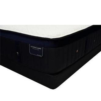 Pollock-TT Queen Mattress w/Low Foundation by Stearns & Foster
