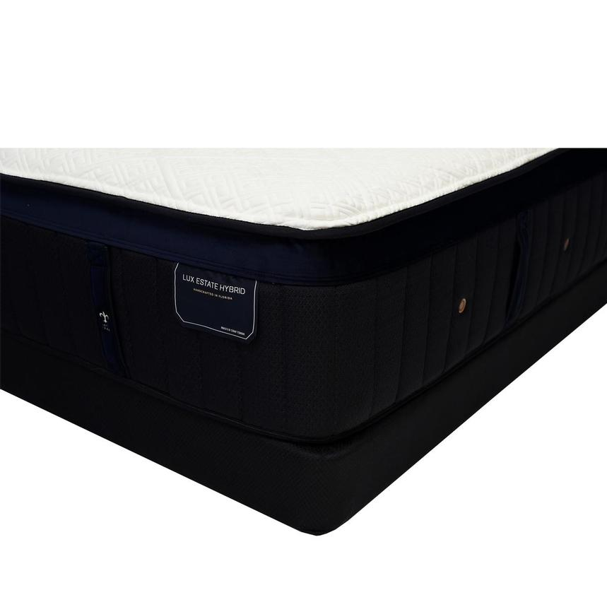 Pollock-TT Queen Mattress w/Regular Foundation by Stearns & Foster  main image, 1 of 6 images.
