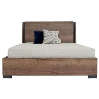 Lugano Queen Panel Bed Made in Italy