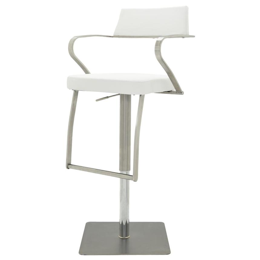 Amy White Adjustable Stool  alternate image, 3 of 9 images.