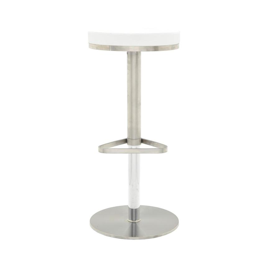 Kylee White Adjustable Stool  main image, 1 of 8 images.