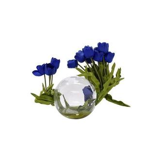 Beth Blue Flower Arrangement