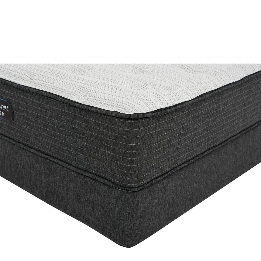 BRS900-TT-MS Full Mattress w/Low Foundation by Simmons Beautyrest Silver  main image, 1 of 6 images.