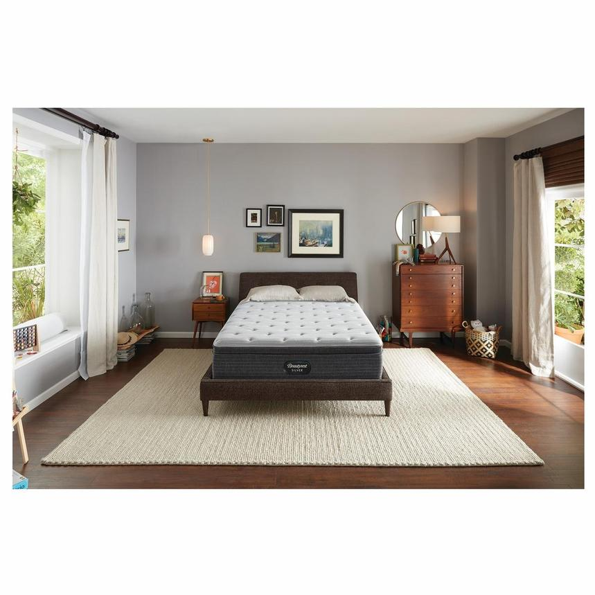 BRS900-ET-MS Full Mattress w/Low Foundation by Simmons Beautyrest Silver  alternate image, 2 of 6 images.
