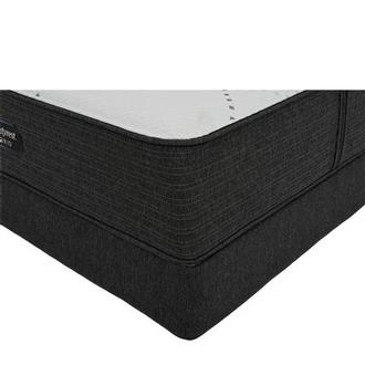 BRX 1000-Firm Full Mattress w/Low Foundation by Simmons Beautyrest Hybrid