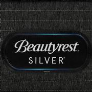BRS900-TT-Plush Full Mattress w/Regular Foundation by Simmons Beautyrest Silver  alternate image, 5 of 6 images.