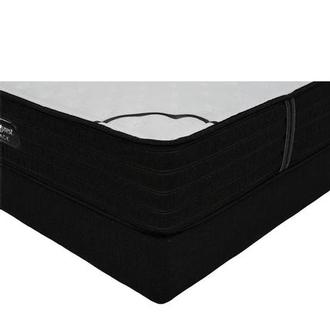BRB-L-Class Firm Full Mattress w/Regular Foundation by Simmons Beautyrest Black