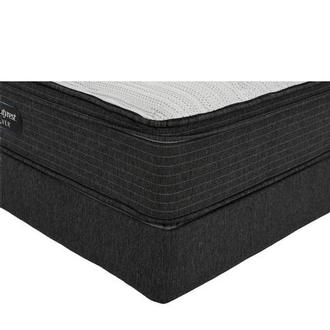 BRS900-ET-MS King Mattress w/Low Foundation by Simmons Beautyrest Silver