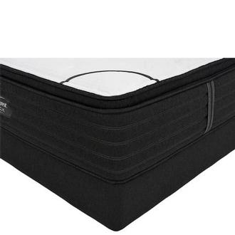 BRB-L-Class PTMS King Mattress w/Low Foundation by Simmons Beautyrest Black