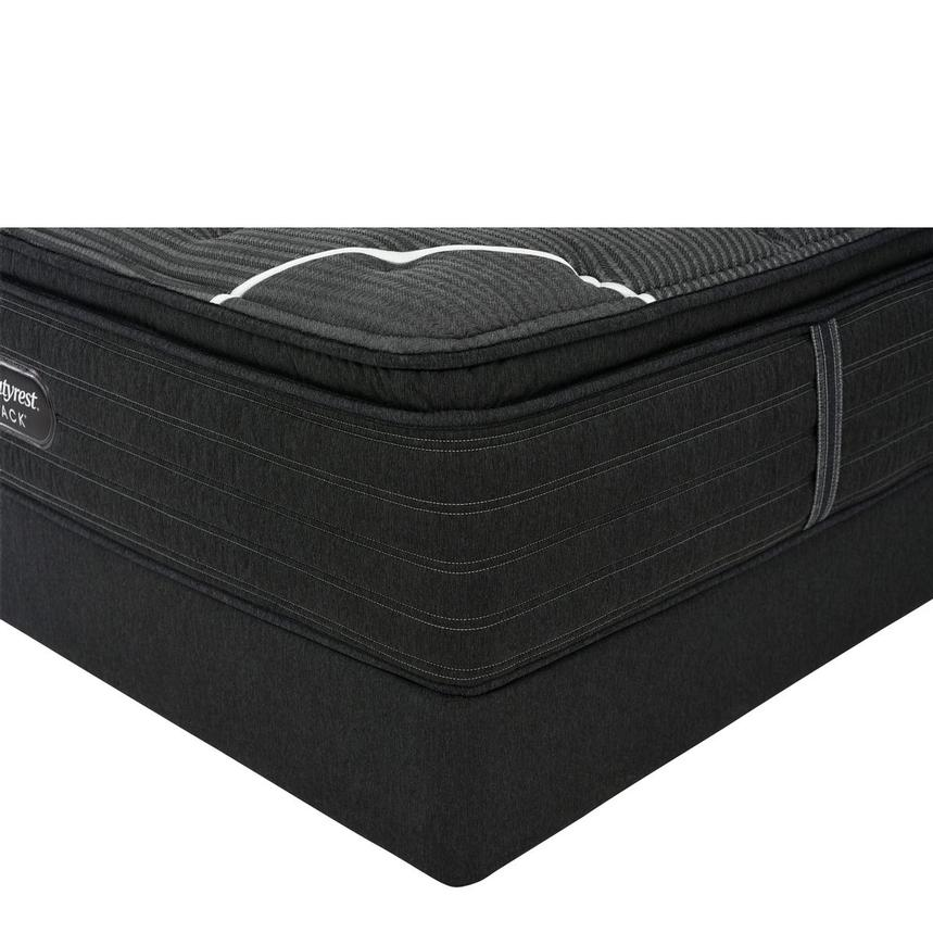 BRB-C-Class PT King Mattress w/Low Foundation by Simmons Beautyrest Black  main image, 1 of 6 images.