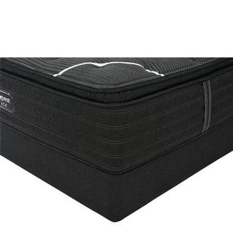 BRB-C-Class PT King Mattress w/Regular Foundation by Simmons Beautyrest Black