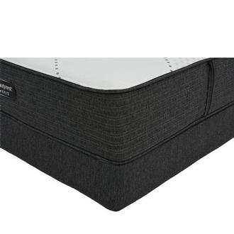 BRX 1000-IP-MS Queen Mattress w/Low Foundation by Simmons Beautyrest Hybrid