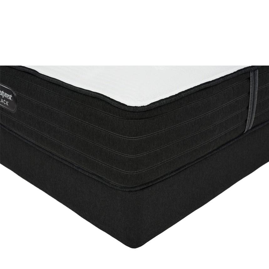BRB-L-Class MF Queen Mattress w/Low Foundation by Simmons Beautyrest Black  main image, 1 of 6 images.
