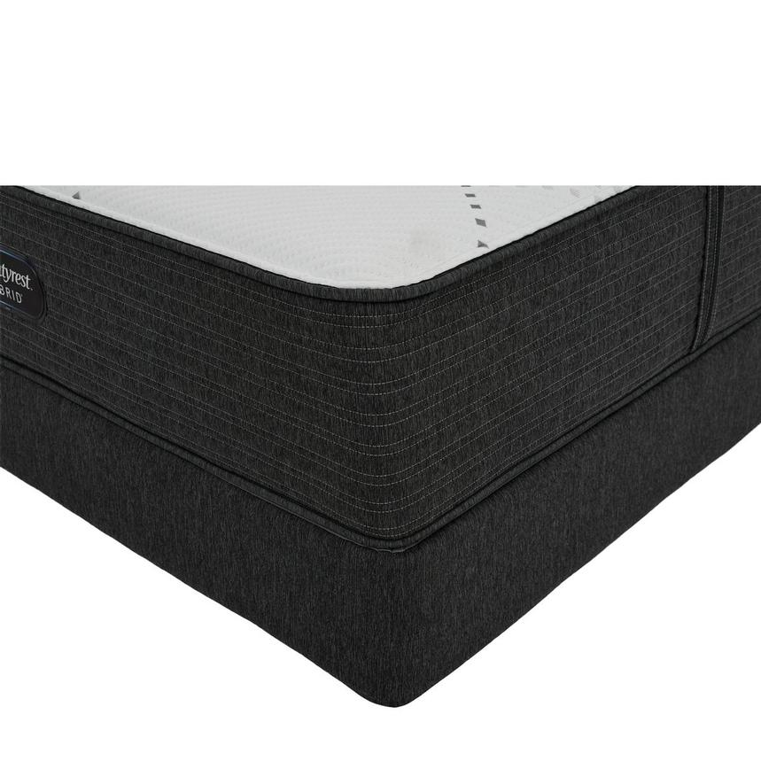 BRX 1000-Firm Twin Mattress w/Low Foundation by Simmons Beautyrest Hybrid  main image, 1 of 6 images.