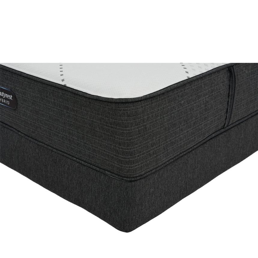 BRX 1000-IP-MS Twin Mattress w/Regular Foundation by Simmons Beautyrest Hybrid  main image, 1 of 6 images.