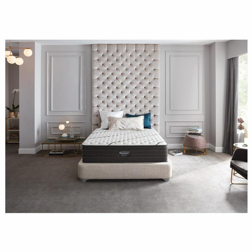 BRB-L-Class Firm Twin XL Mattress w/Low Foundation by Simmons Beautyrest Black  alternate image, 2 of 6 images.