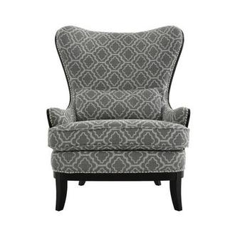 Elle Dark Gray Accent Chair