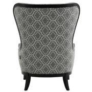 Elle Dark Gray Accent Chair  alternate image, 4 of 5 images.