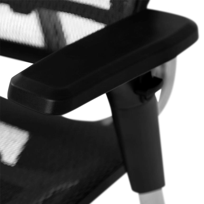 Arsenio Black High Back Desk Chair  alternate image, 10 of 13 images.