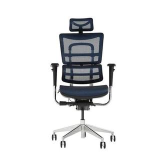 Arsenio Blue High Back Desk Chair