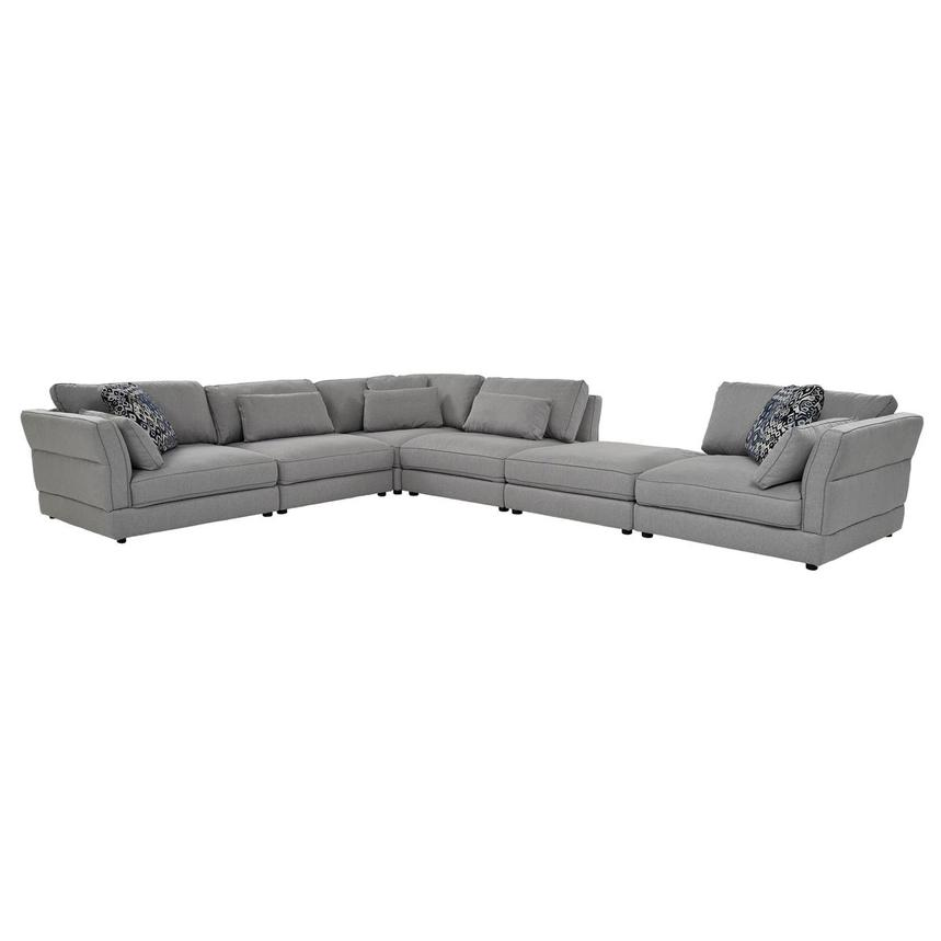 Skyward Sectional Sofa w/Ottoman  main image, 1 of 7 images.