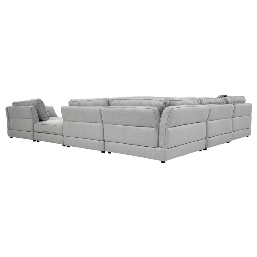 Skyward Sectional Sofa w/Ottoman  alternate image, 4 of 6 images.
