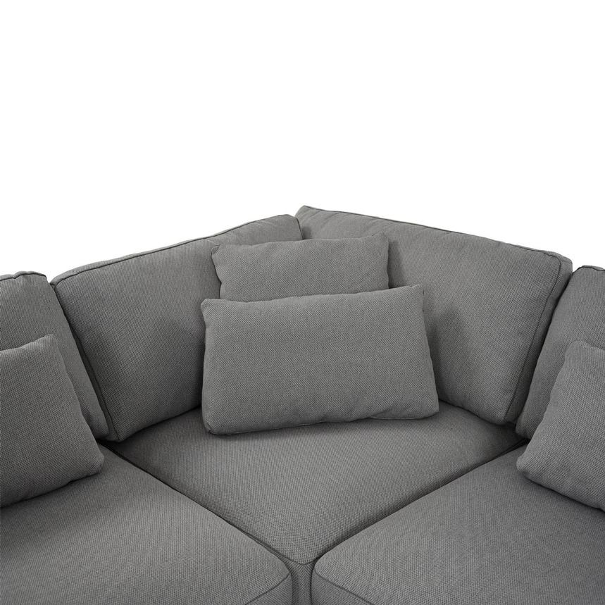 Skyward Sectional Sofa w/Ottoman  alternate image, 6 of 7 images.