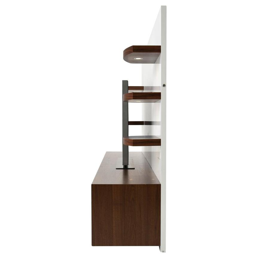 Contour Walnut/White Wall Unit  alternate image, 4 of 10 images.
