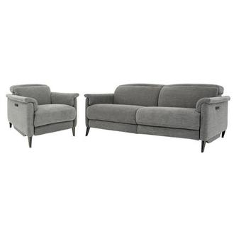 Katie Light Gray Living Room Set