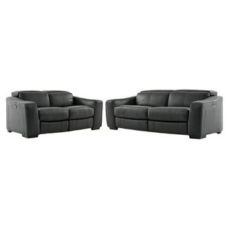 Jay Dark Gray Living Room Set