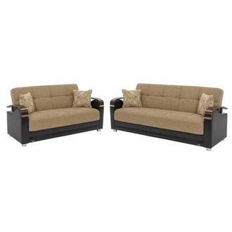 Peron Tan Living Room Set