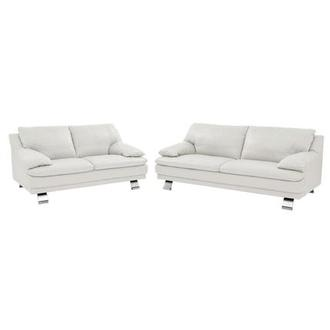 Rio White Living Room Set