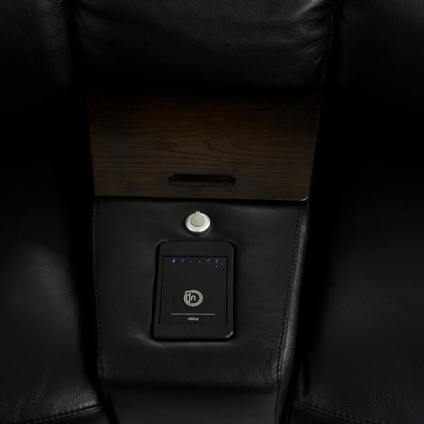 Jeremy Home Theater Leather Seating  alternate image, 9 of 14 images.