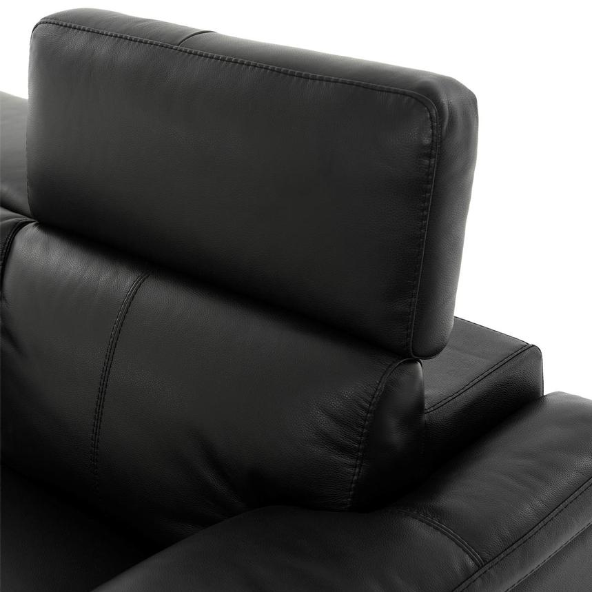 Charlie Black Leather Power Reclining Loveseat  alternate image, 6 of 12 images.