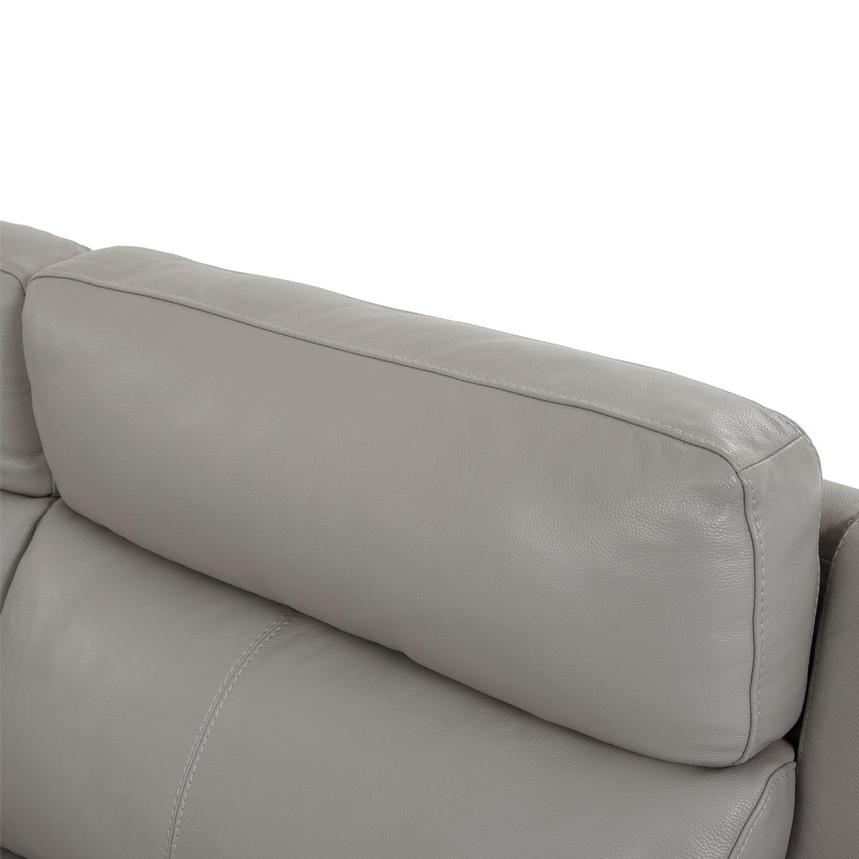 Barry Gray Leather Power Reclining Sectional  alternate image, 8 of 14 images.