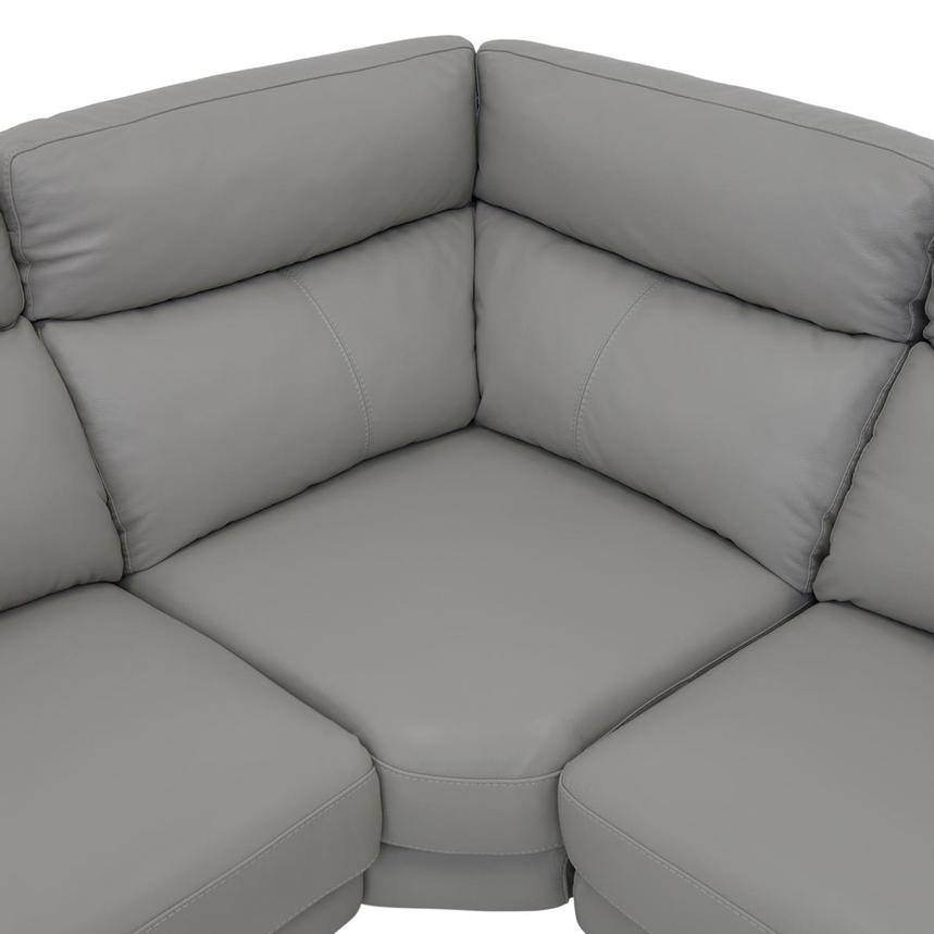 Barry Gray Leather Power Reclining Sectional  alternate image, 9 of 13 images.