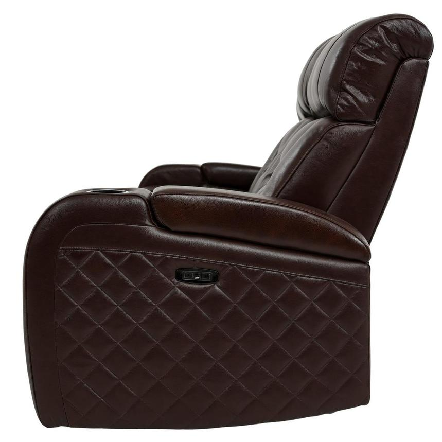 Strange Gio Brown Leather Power Reclining Sofa Caraccident5 Cool Chair Designs And Ideas Caraccident5Info