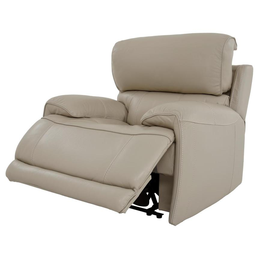 Cody Cream Leather Power Recliner  alternate image, 3 of 11 images.