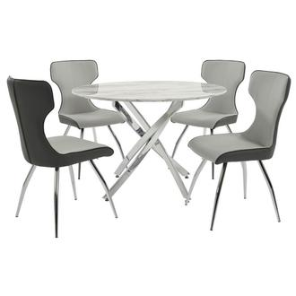 Camille 5-Piece Casual Dining Set